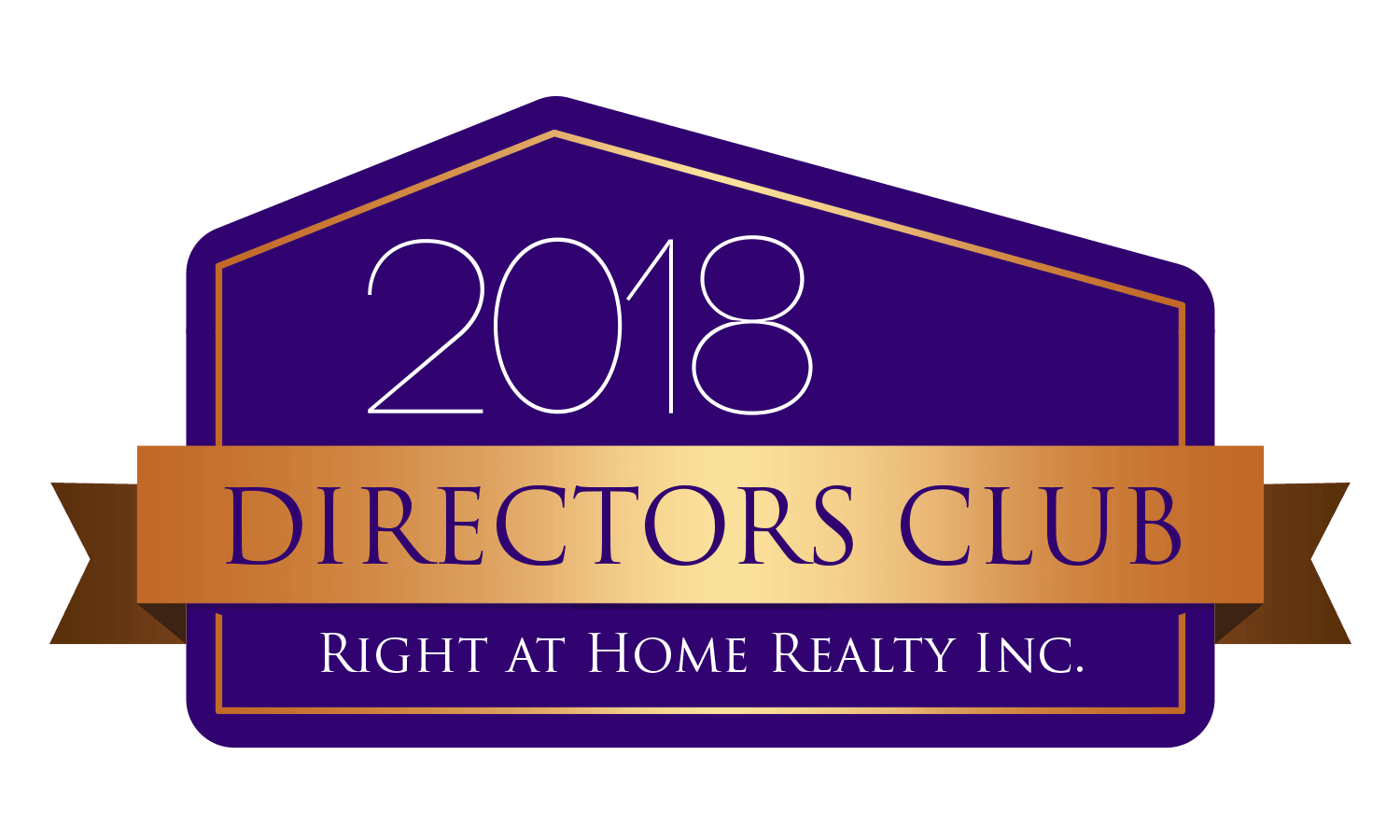 2018 - Directors Club Award (Right At Home Realty)