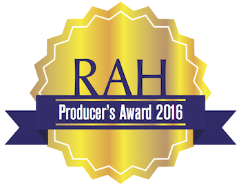 2016 - Producer's Award (Right at Home Realty) 2016 - Producer's Award (Right at Home Realty)