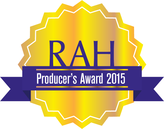 2015 - Producer's Award (Right at Home Realty)