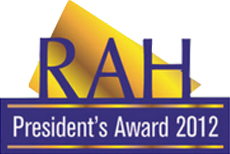 2012 - President's Award (Right At Home Realty)